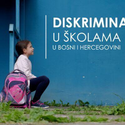 Discrimination in schools in Bosnia and Herzegovina